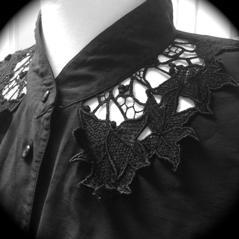 Image of Shirt with Lace Details