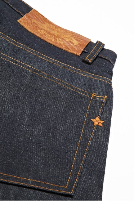Image of Brave Star Selvage Denim- 14.5oz Slim Straight