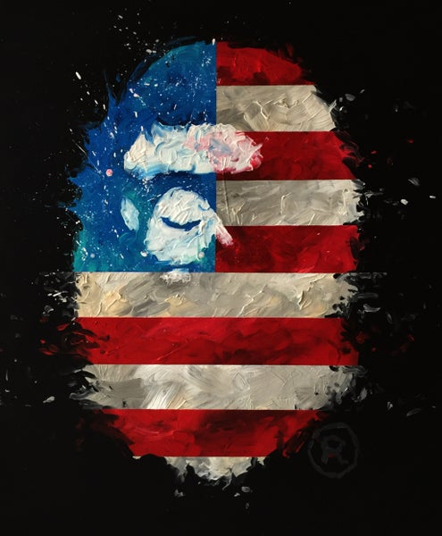 Image of Independent Ape (Limited Edition Print)
