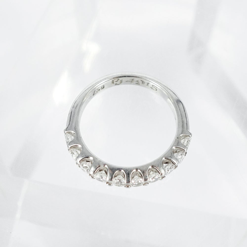 Image of PJ4916 18ct white gold diamond eternity ring