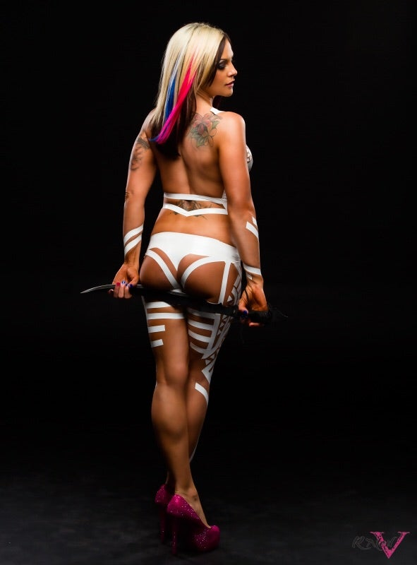 "Image of Velvet Sky ""Work you Out"" Signed 8x10"