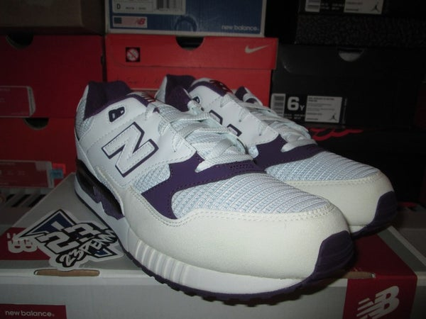 "New Balance 530 ""White/Purple"" - FAMPRICE.COM by 23PENNY"
