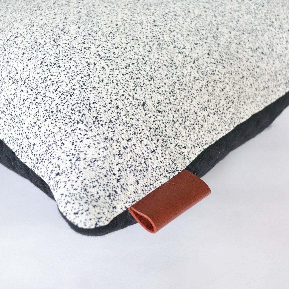 Image of Kumo Cushion Cover - Black Square