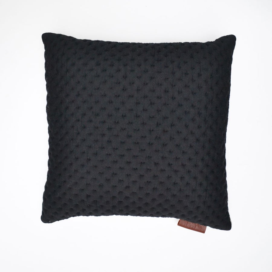 Image of Kumo Cushion Cover - Black Square