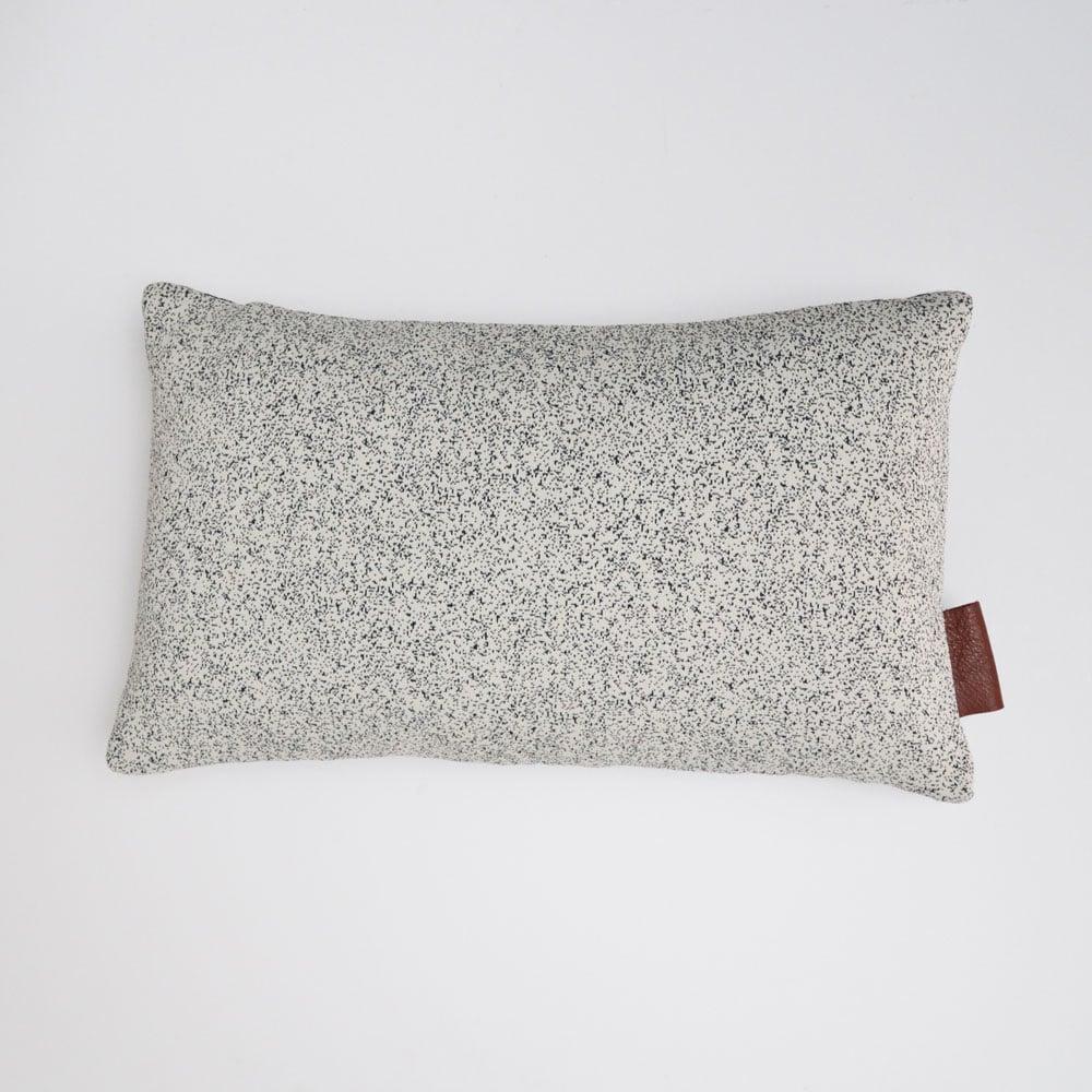 Image of Kumo cushion Cover - Black Lumbar
