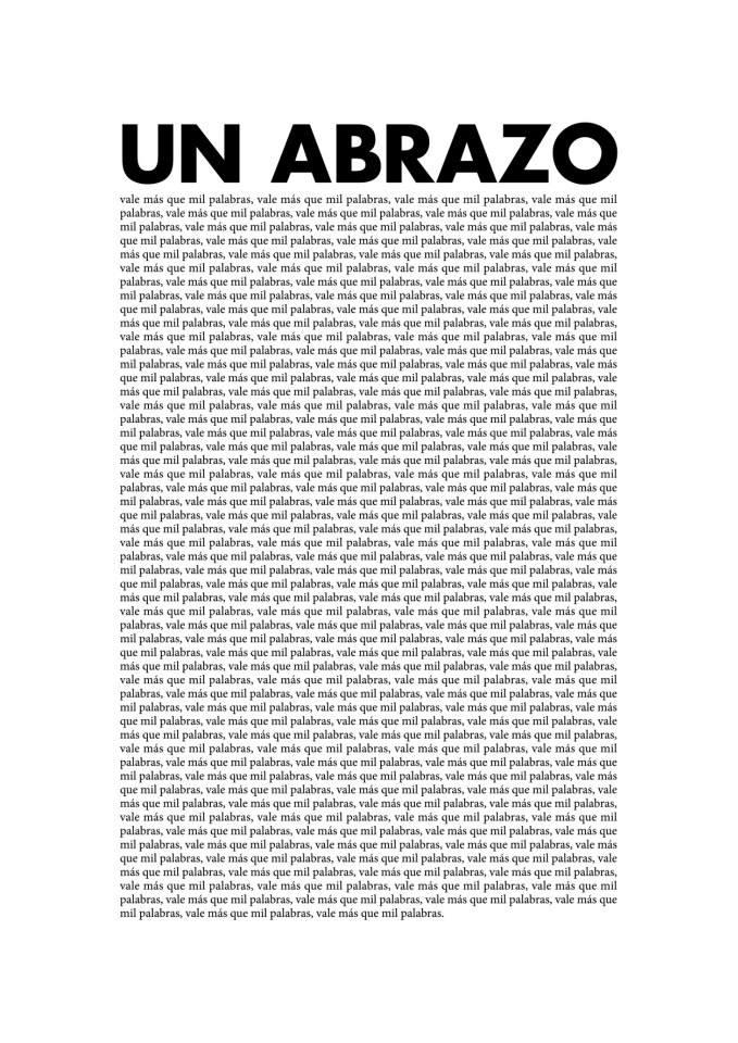 Image of Abrazo