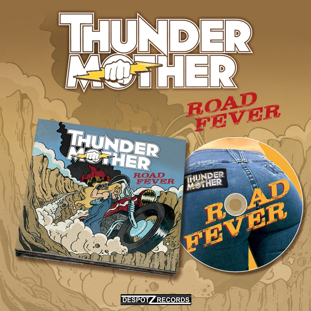Image of Thundermother - Road Fever (CD)
