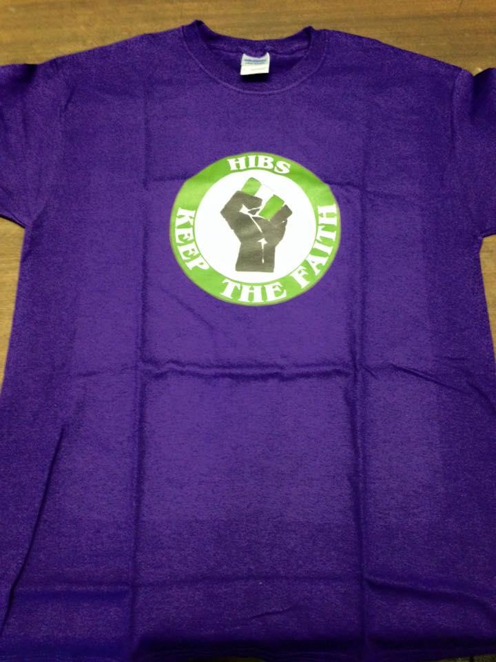 Image of Hibs, Hibernian, Keep The Faith T-Shirts.