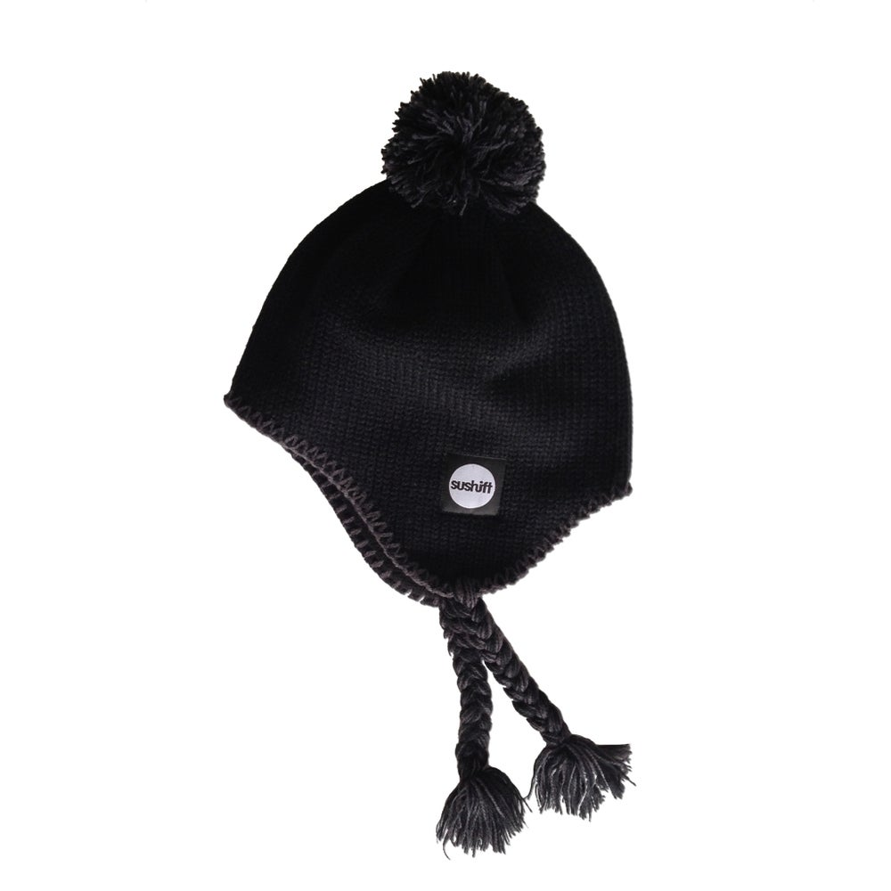 Image of Inca Beanie - Black