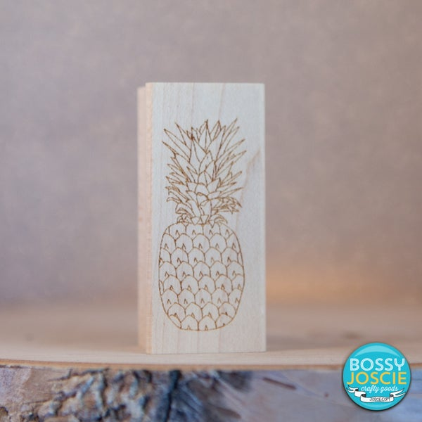 Image of Pineapple Stamp