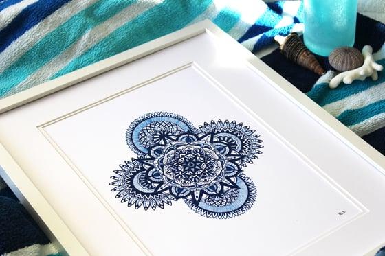 Image of Blue Mandala
