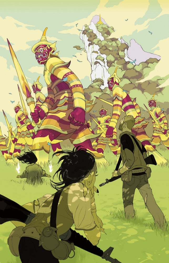 Image of Tomer Hanuka's 'Ghost Warriors'