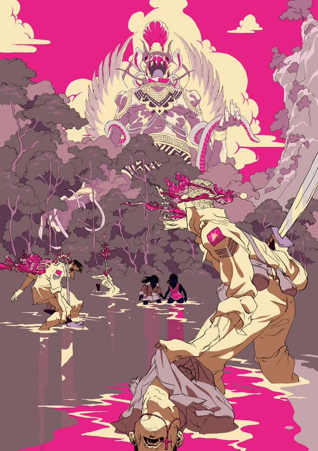 Image of Tomer Hanuka's 'Havoc' (Gallery Edition)
