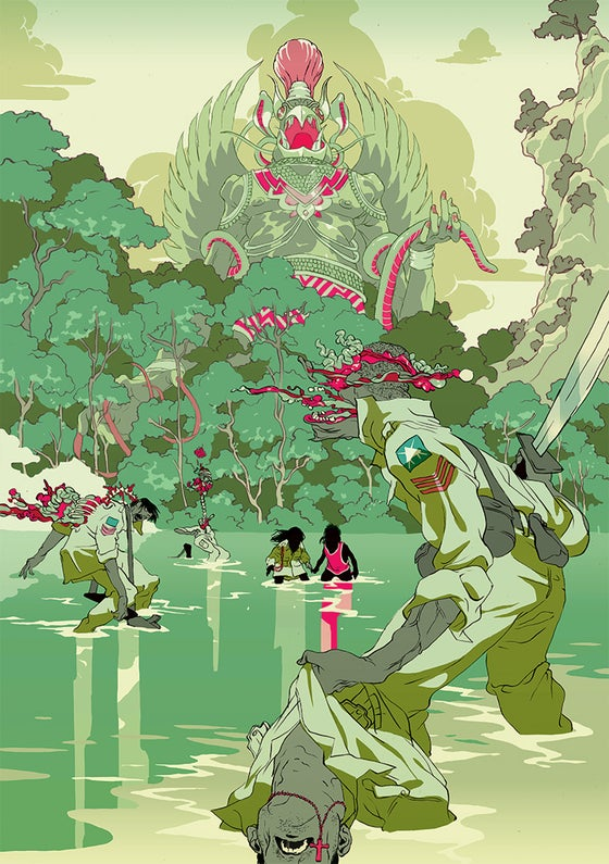 Image of Tomer Hanuka's 'Havoc' (Green Version)