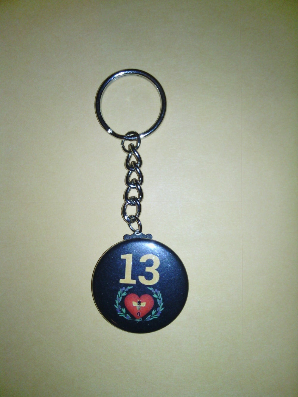 Image of TLC 13 Love Community Private Logo Keychain