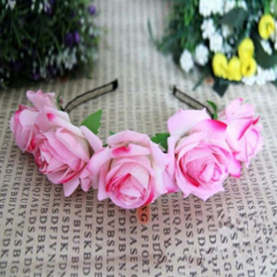 Image of Candy Pink Floral Garland