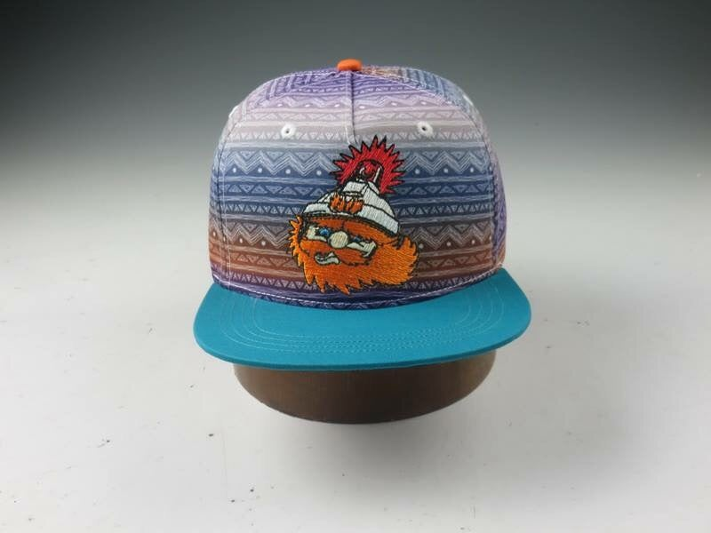 "Image of Moments Collection Flat Brim Snapback-#3 in a series ""Ziggy"""