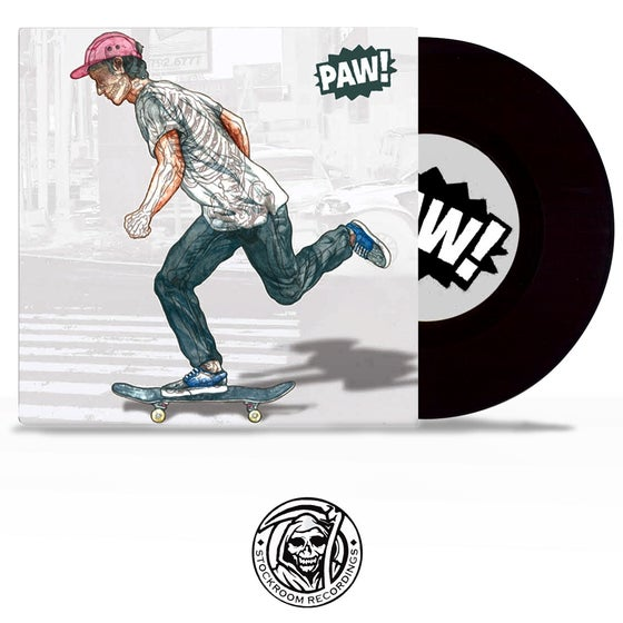 Image of PAW! - s/t 7""