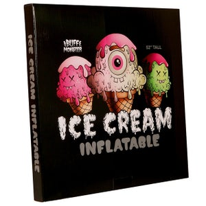 Image of Buff Monster Ice Cream Inflatable 52 inches
