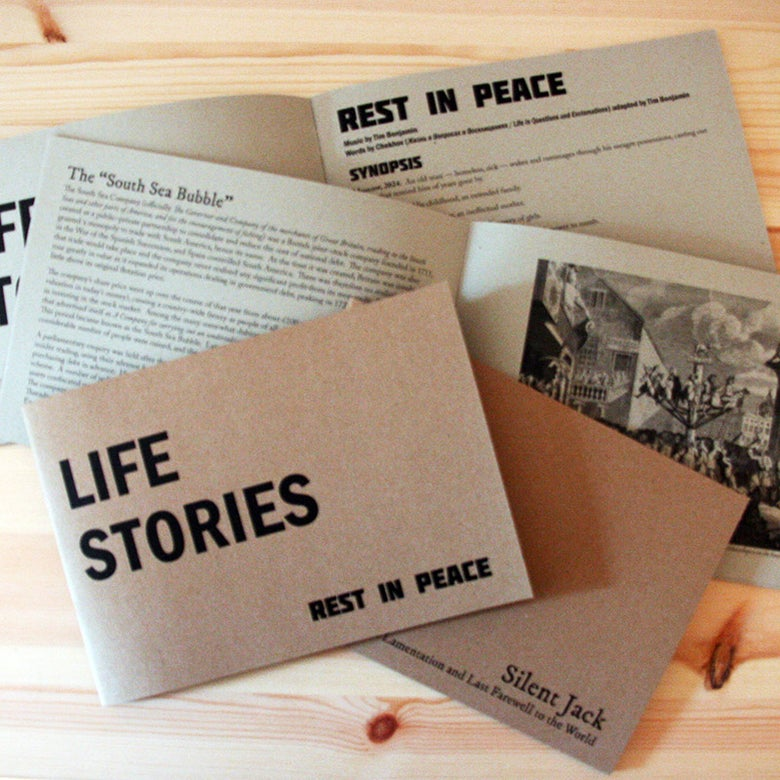Image of Life Stories programme + FREE digital edition