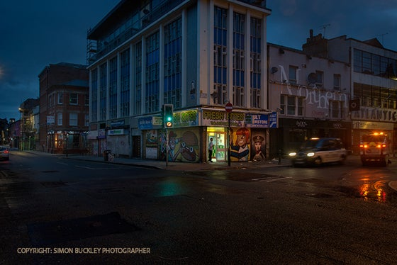 Image of HILTON STREET, MANCHESTER 4.31AM