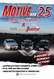 Image of Motive DVD #025 - 2015 Drag Battle & GT-R Challenge