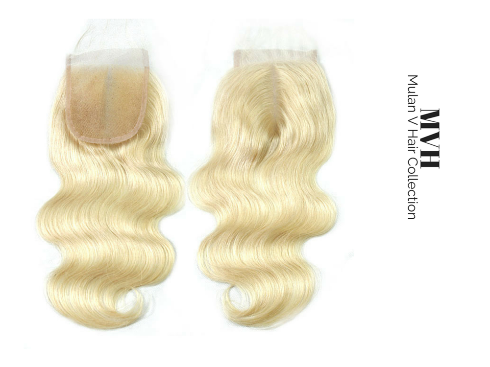 Image of 613 Blonde Closure Piece