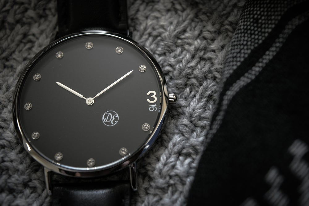"""Image of The """"3:16"""" Black Leather"""