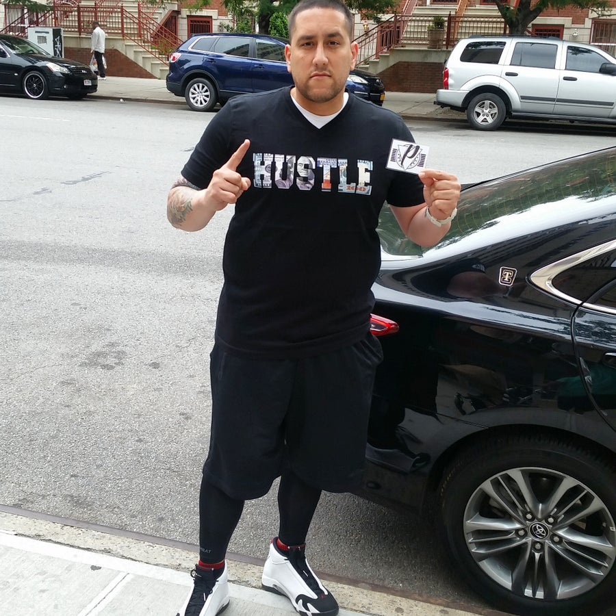 "Image of ""HUSTLE"" Tee"