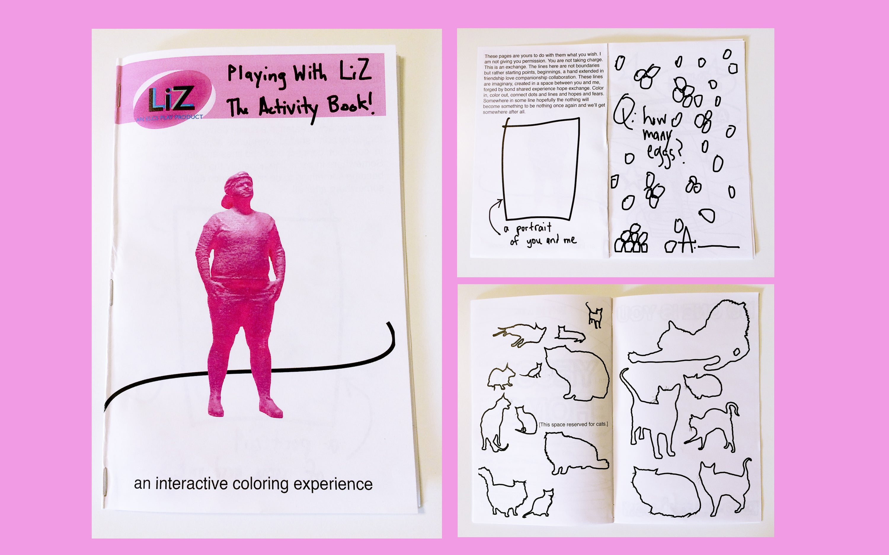 Playing with LiZ! The Activity Book