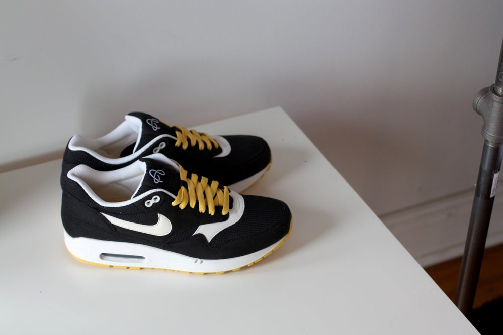 "Image of NIKE AIR MAX 1 ""OMEGA PACK"" SOLAR FLARE 308866-005"