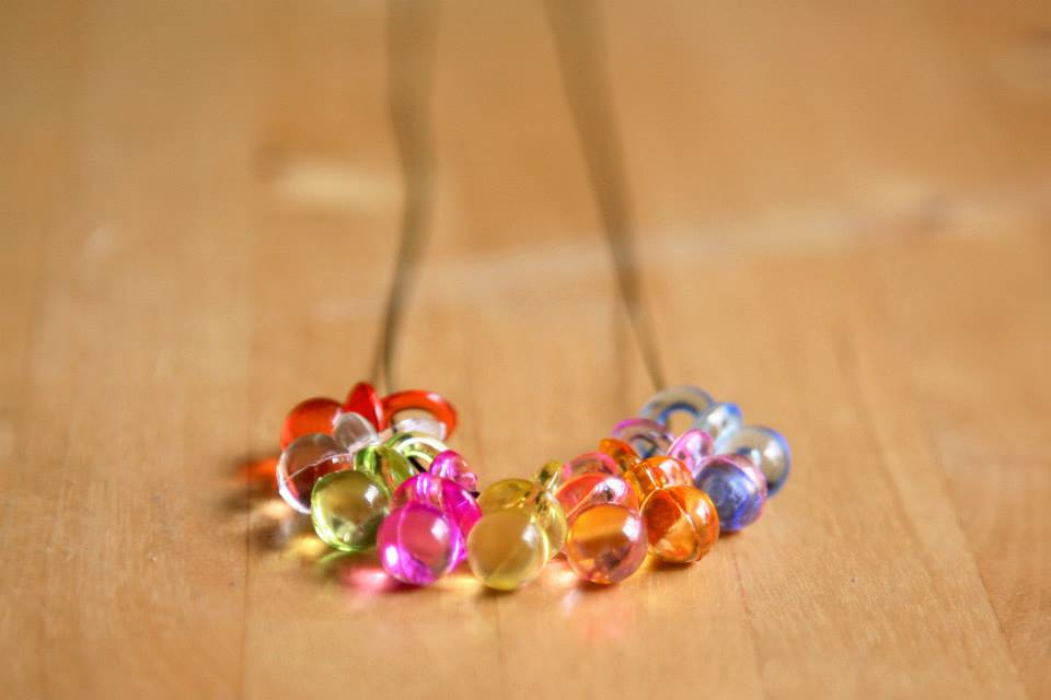 Image of The 9 Dummy Necklace - All the Colours