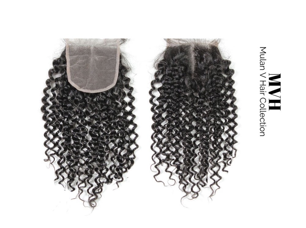 Image of Indian Curly Closure Piece