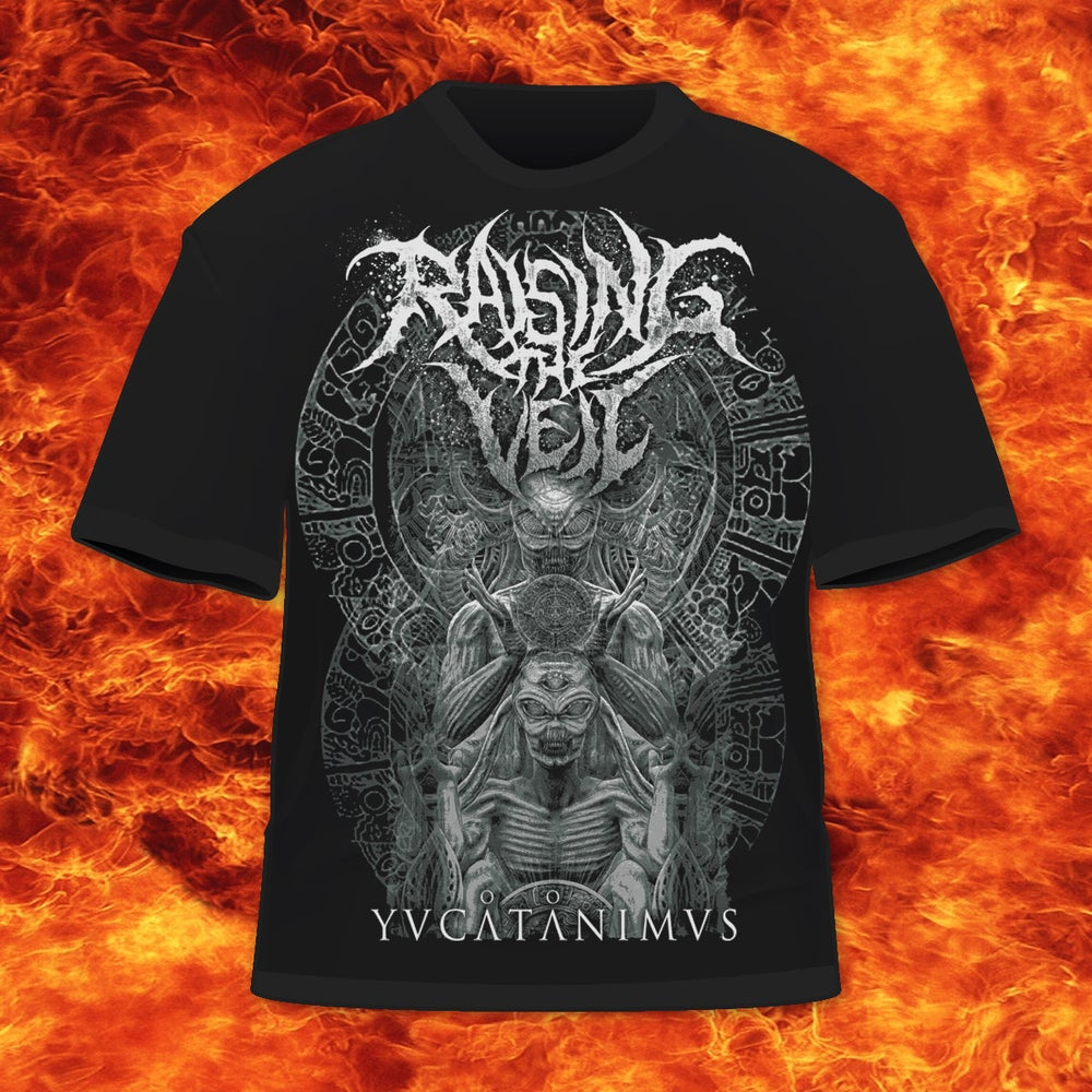 Image of RAISING THE VEIL - YUCATANIMVS - T-SHIRT