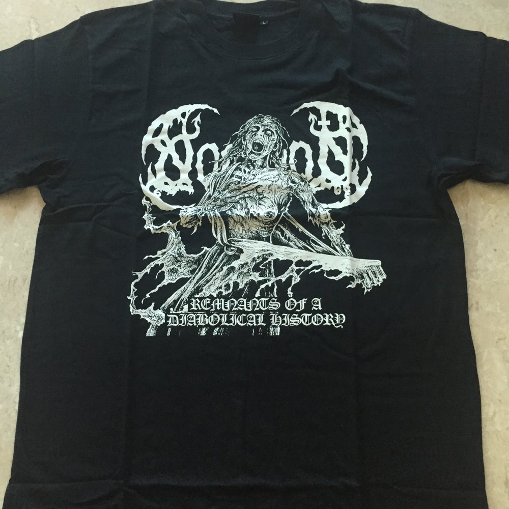"NOMINON ""Remnants Of A Diabolical History"" T-Shirt"