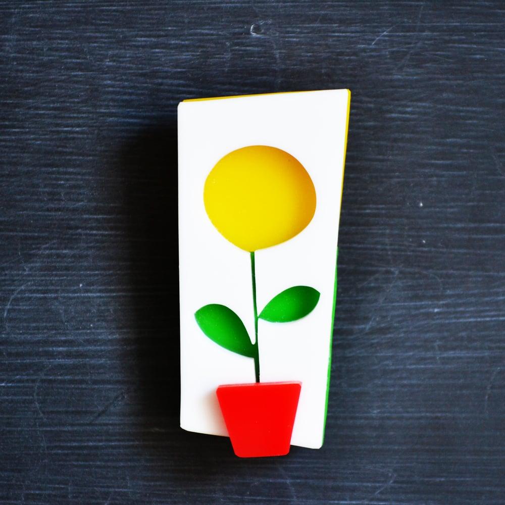 Image of Sunflower brooch