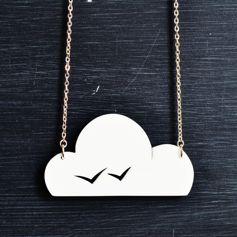Image of Seagulls necklace