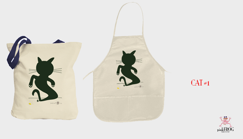 Image of CAT#1 (tee/undie/youth tee/toddler tee/baby onesie/tie/tote bag/apron/print/framed art)