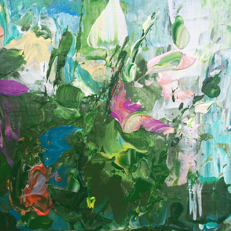 Image of 'Summer on the lake' - 25 x 40cm