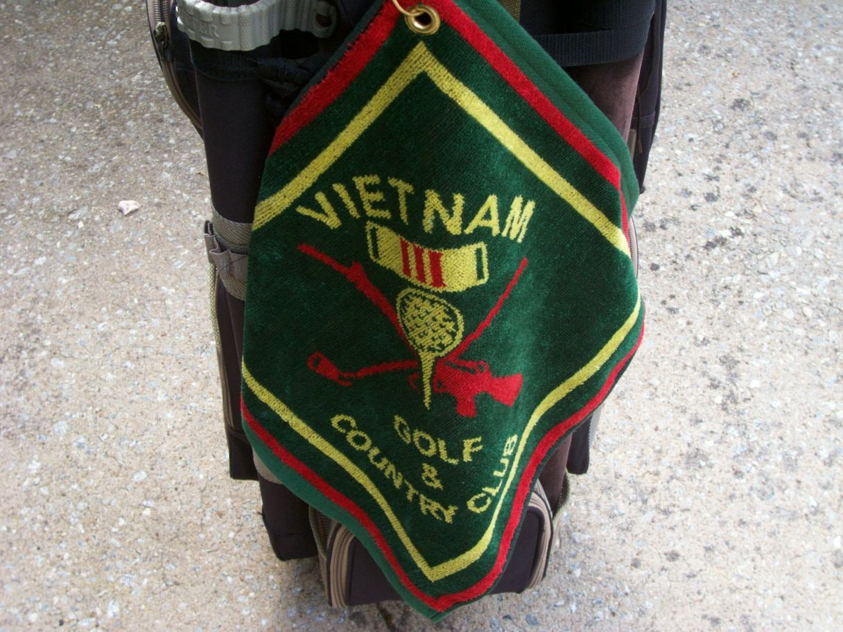 Image of VIETNAM GOLF AND COUNTRY CLUB GOLF TOWEL