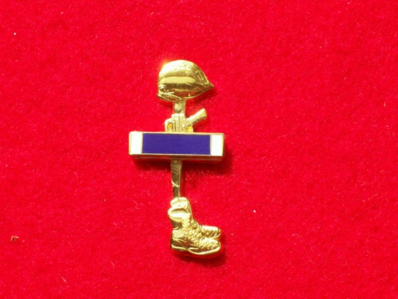 Image of BATTLEFIELD CROSS PIN/PURPLE HEART
