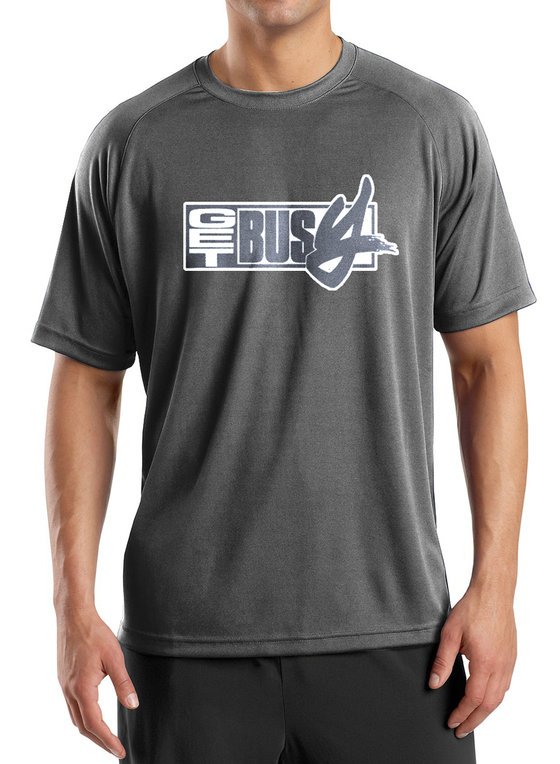 "Image of T.Shirt GET BUSY "" DR Grey"""