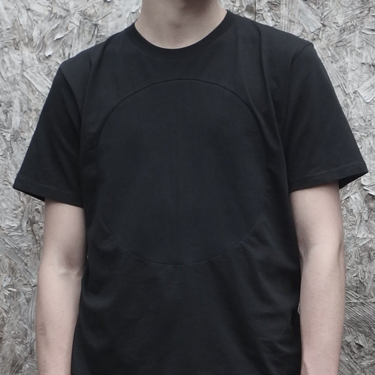 Image of GREY LABEL LUNAR T-SHIRT IN FULL ECLIPSE BLACK