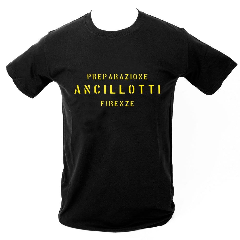 Image of Ancillotti T-Shirt. BLACK