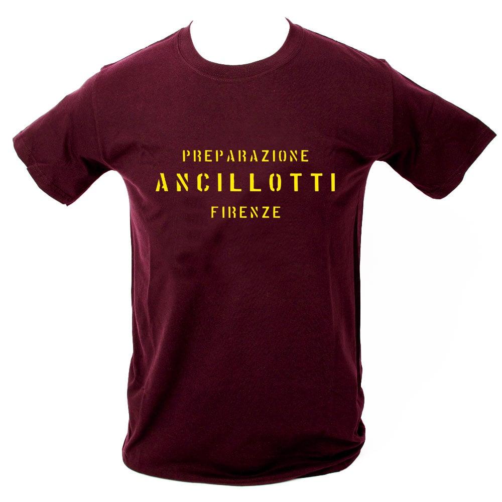 Image of Ancillotti T-Shirt. MAROON