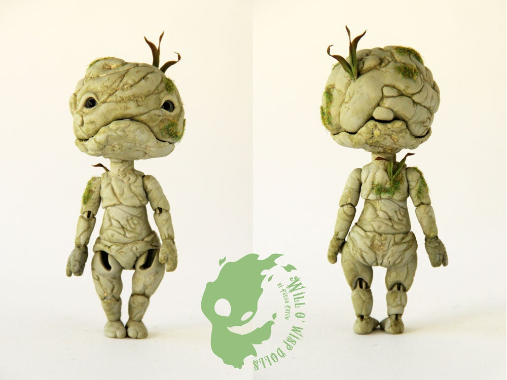 Image of Stone Sprite 11cm BJD #3 - Home casted