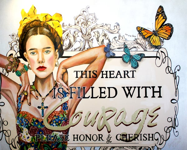 "Image of ""This Heart is Filled with Courage"""