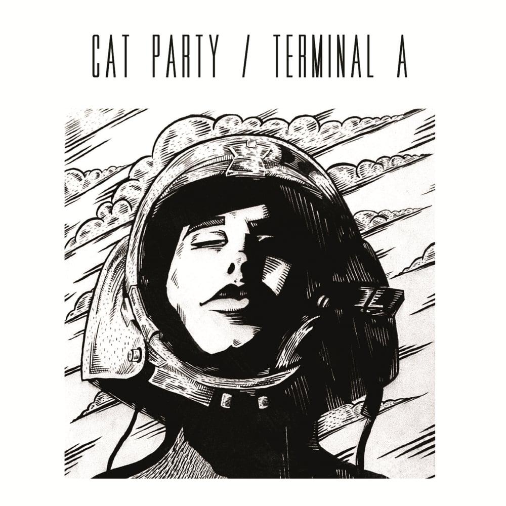 "Image of Shadowhouse / Terminal A / Cat Party / Etilo Mantalini 4 way split 7"""