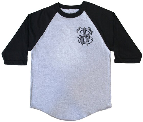 Image of SW Baseball T-Shirt | BLACK