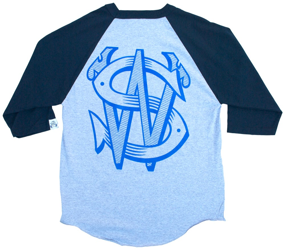 Image of SW Baseball T-Shirt | BLUE